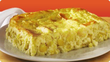 Souffle de Maiz :http://www.recetasjudias.com/souffle-de-maiz/