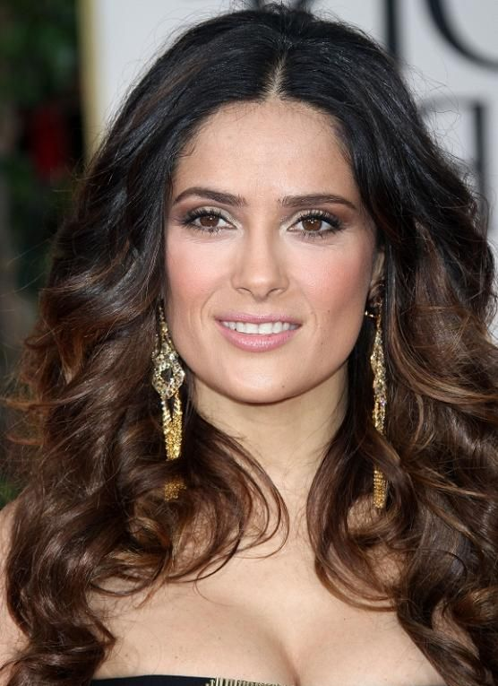salma hayek hairstyles : ... Salma Hayek hairstyles hairstyles I like Pinterest Salma Hayek
