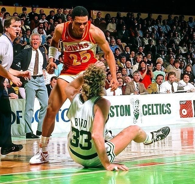 regram @rare_sports  Looks like Doc Rivers was about to give Larry Bird a few shots as Joey Crawford stood by watching #80sNBA  -  Follow @Rare_Sports for more     http://ift.tt/2tnmCkk