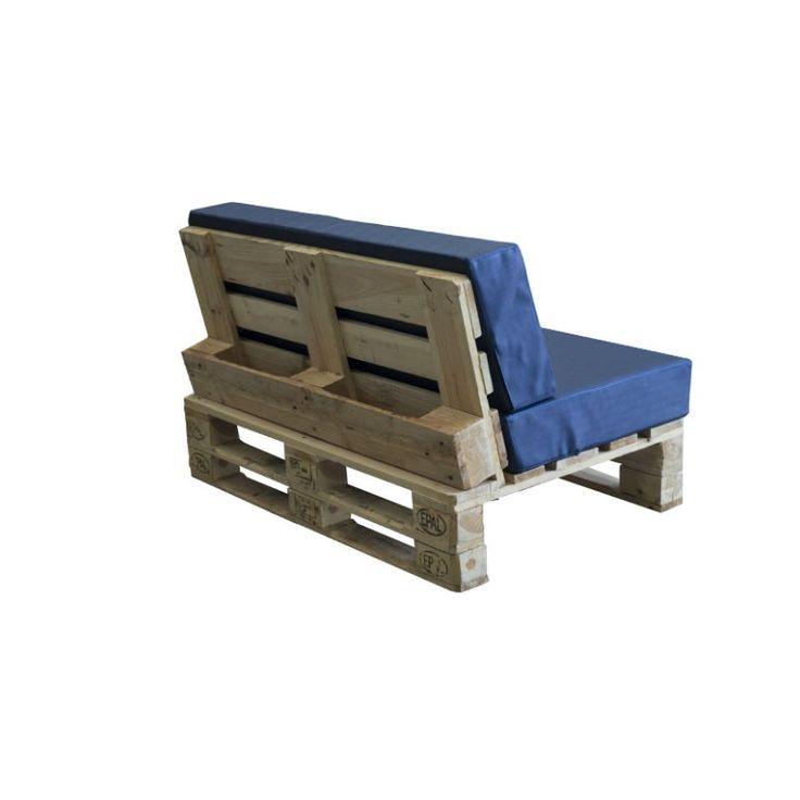 M s de 25 ideas incre bles sobre cojines de sof en for Sofa exterior palets