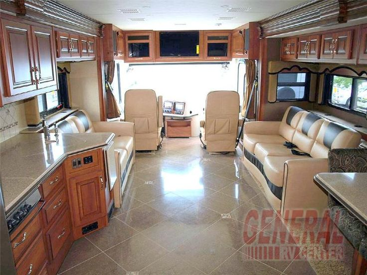 An Interior Shot Of The Fleetwood Discovery 36j