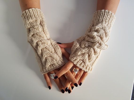 Gloves Fingerless women gloves armwarmer by TogetherDifferent