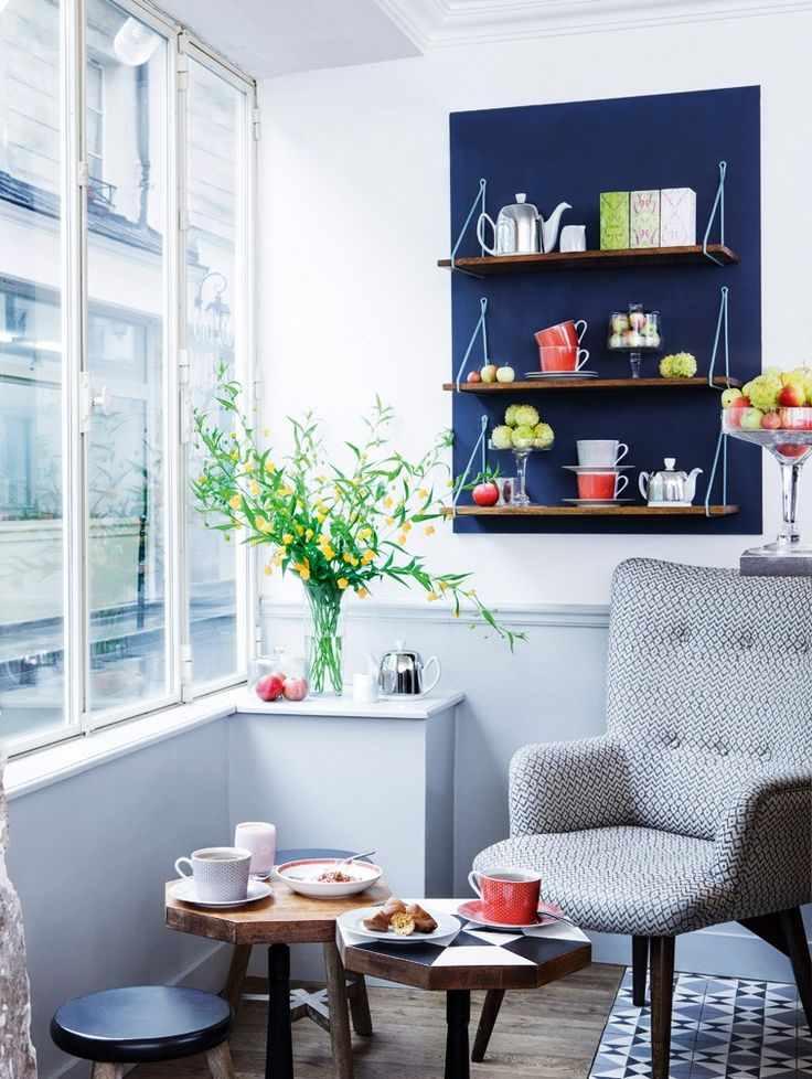 cuisine côté couloir - Deco | Julie Ansiau