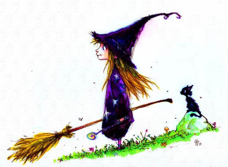 допросе маленькая ведьма прикольные картинки письме файлами