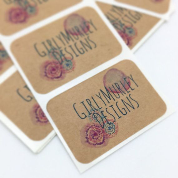 Custom Stickers  Custom Labels  Personalized by SaddleHillStudios