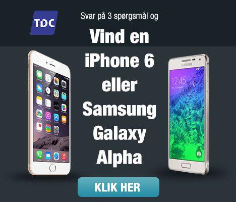 konkurrence: vind en iPhone 6
