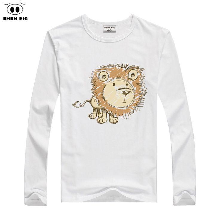 DMDM PIG Kids T Shirt Children's Clothing Costume Baby Boy Girl Clothes Long Sleeve T-Shirts For Boys Girls Tops T-shirt Clothes