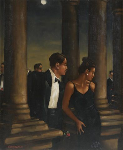 Jack Vettriano - The Valentines Dance