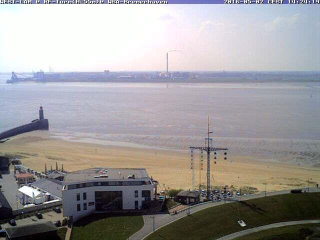 WestKamera (Weitwinkel) Bremerhaven