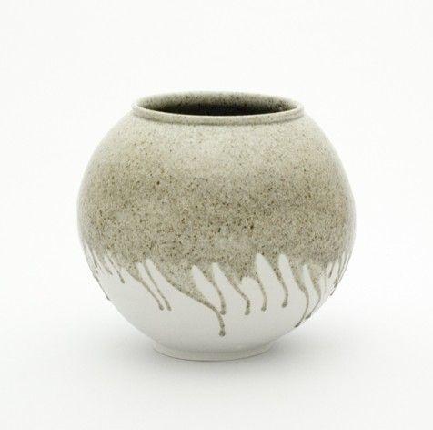 stone-glaze-moon-jar created by Welsh potter Adam Buick.
