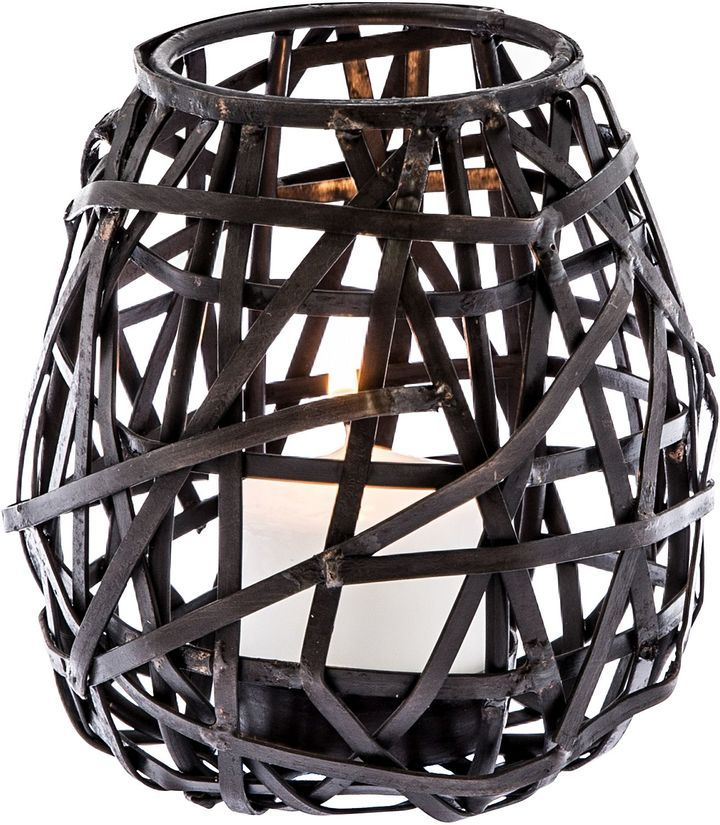 Casa Uno Birds Nest Metal Candle Holder, Medium #ad