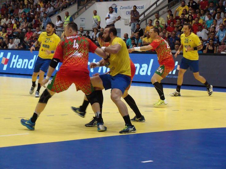 FOTO Handbal masculin: România - Belarus în imagini