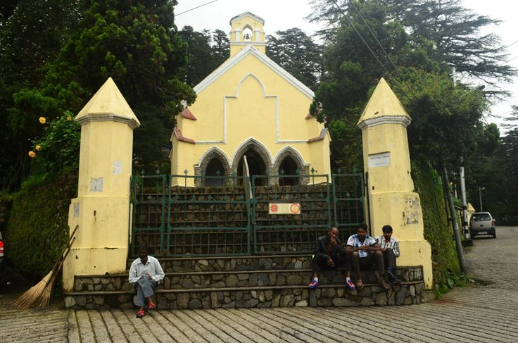St. Paul's Church near Char Dukan, Landour. Mussoorie.