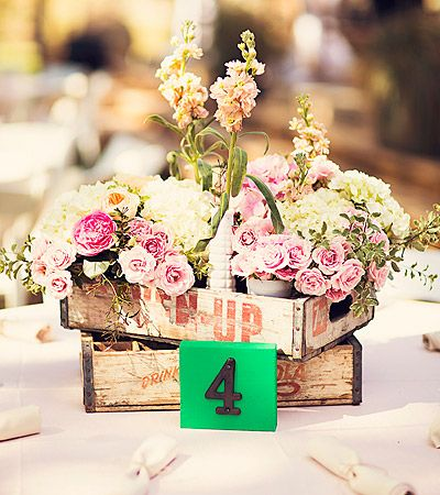 shabby chic centerpiece - Birds of a Feather, Wendy Kay | Wedding Planners | Event Coordinators | Fort Worth, Dallas, Texas