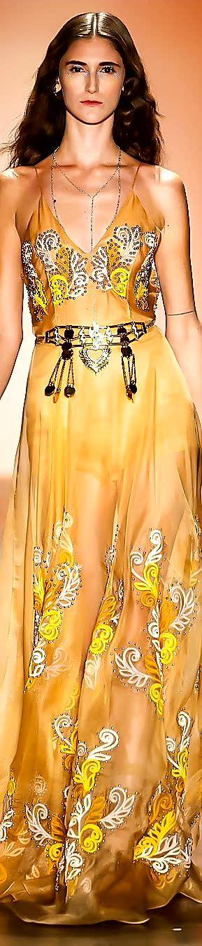 Hello Rocha, Spring 2017, Couture 2017, yellow