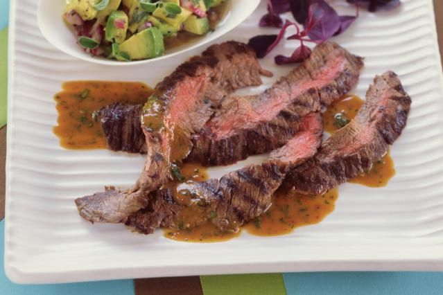 """This """"salt and pepper"""" grilled skirt steak recipe is so easy because the seasonings are so simple. Skirt steak is such a juicy, flavorful cut of beet that you don't need to do too much."""