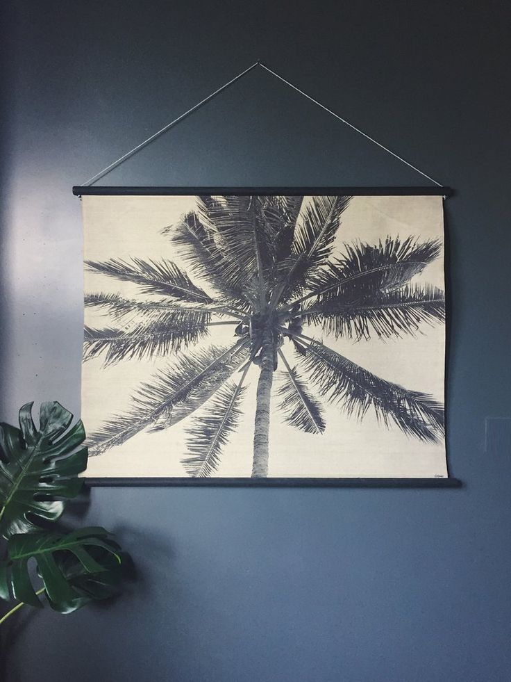 HK Living Palm Resort Wall Chart Hanging – Homeplace