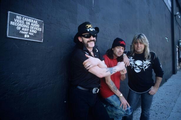 Lemmy Kilmister/Phil Campbell/Mickey Dee