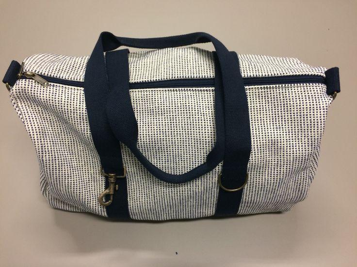 3 - boat bag Portofino - L50cm X H45cm - natural cotton