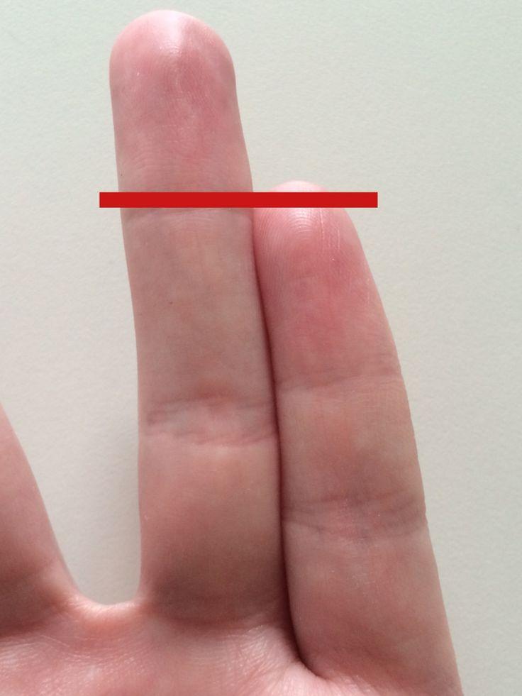 Wie kann das sein? Die Länge des Ringfingers hängt mit deinem Testosteronspiegel zusammen: Je länger dein Ringfinger, desto mehr männliche