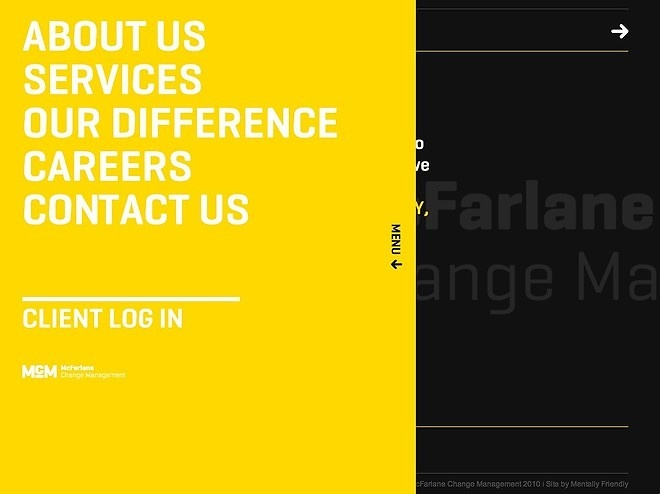 Mcfarlane Change Management - CoolHomepages Web Design Gallery