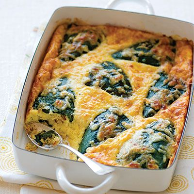 Baked Chiles Rellenos - Quiche, Frittata, & More Baked Egg Recipes - Sunset
