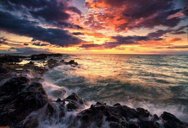 Striking Beach Landscape