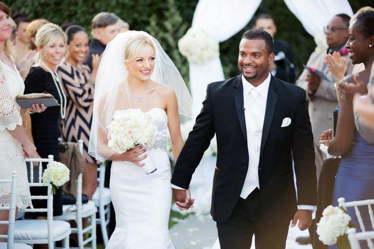 Interracial Wedding Couple | Celebrity interracial weddings