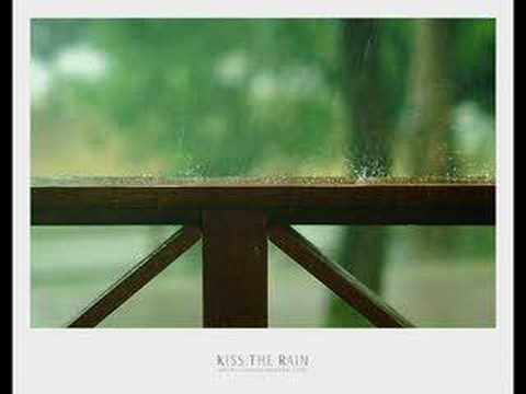 """""""Kiss the Rain"""" - Yiruma. I LOVE this piece! It's so peaceful, and so easy to play . . . it's the one thing I play on the piano that will make my Mom cry.♥"""