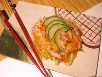 Daikon and Carrot Sunomono with Crab Surimi Recipe -- Easy Japanese-Style Salad
