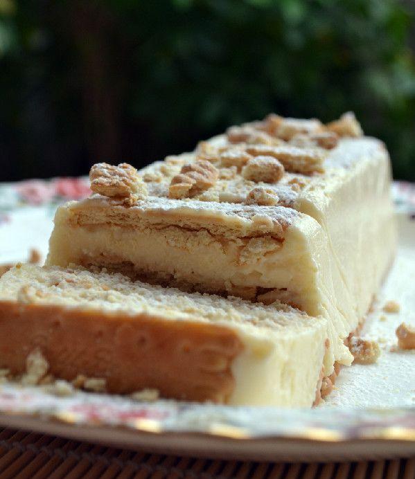 κορμός μιλφειγ με μπισκότα μαμαδίστικη συνταγή