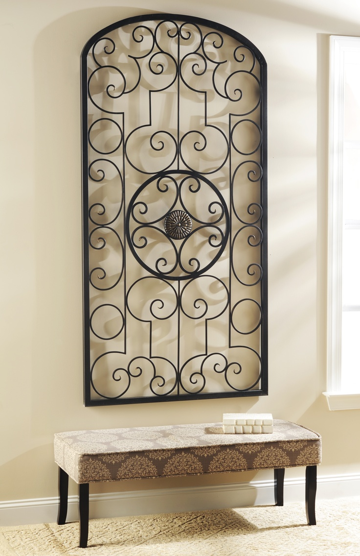 Black Wrought Iron Wall Art Fascinating Best 25 Metal Wall Decor Ideas On Pinterest  Metal Wall Art Inspiration Design