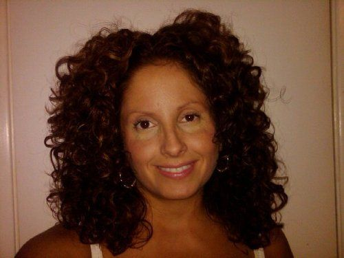 Really Good Hair Day - Brunette, 3b, Long hair styles, Readers, Styles, Female, Curly hair, Adult hair, Layered hairstyles Hairstyle Picture