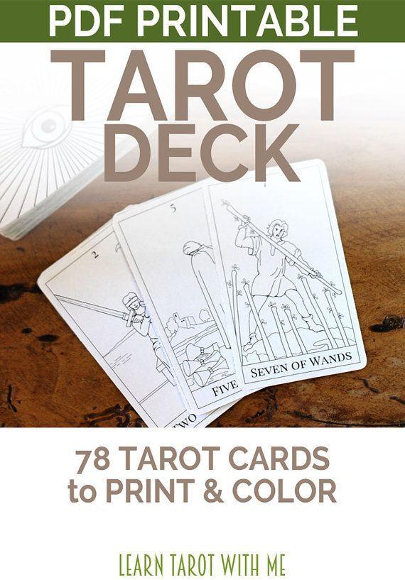 Weighty Arcana Tarot Deck Electronic Printable Tarot Card Deck In 2020 Tarot Decks Tarot Card Decks Diy Tarot Cards