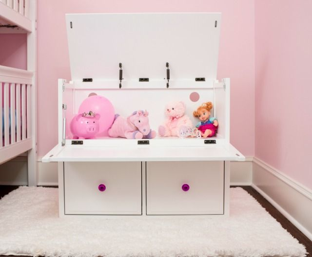 Gift Package Idea: Toy Box with Toys! A toy chest full of their 'must have' toys and video games. (No need to wrap all of those gifts individually!) Shop Maxtrix toy chests.