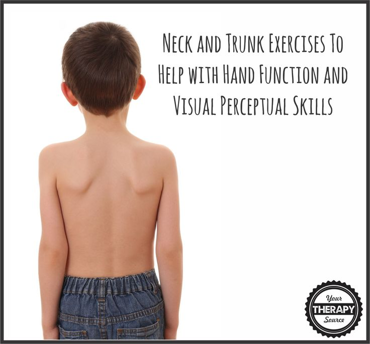 The neck and trunk exercises used in this study helped improve hand function and visual perceptual skills in children with cerebral palsy.