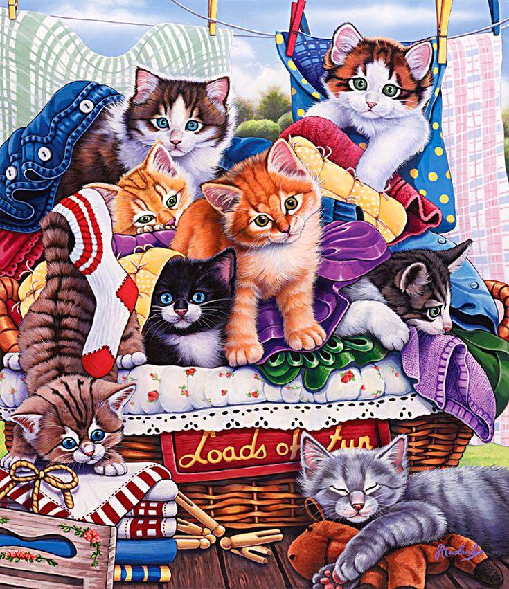 процессе картинка кошка с котятами по ушаковой который хочет удержать