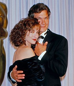 Patrick Swayze And Jennifer Grey At Academy Awards, April 1988