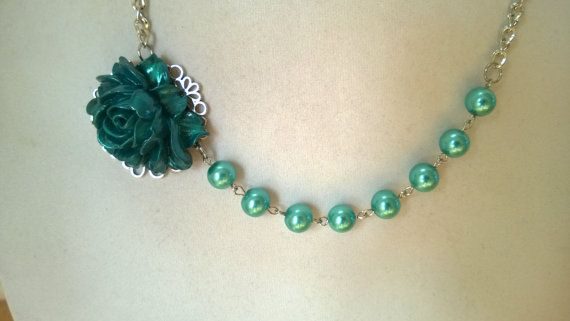 Teal Turquoise Teal jewelry  Turquoise by LesBijouxLibellule