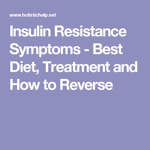 Glucophage treatment for insulin resistance