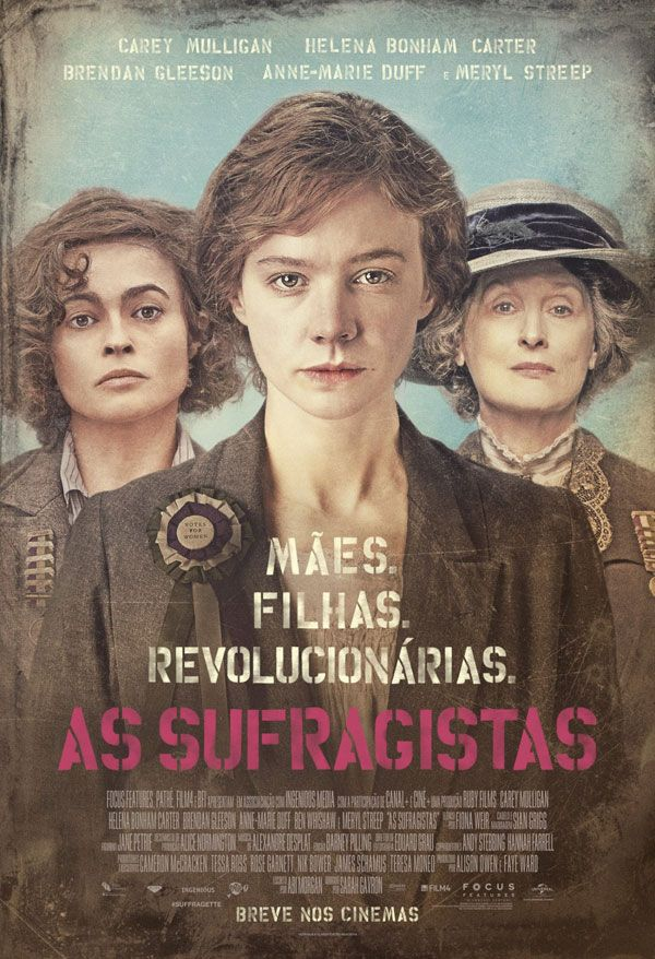 As Sufragistas (Suffragette) ✯ ✯ ✯