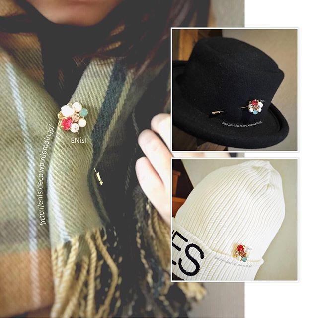 【retoropopふらわーハットピン︎】#レジン #minne #creema #accessory #handmade #hatpins #brooch #xmas #present #swarovski #fashion #bijou #cottonpearl #new #アクセサリー #ハンドメイド #ハットピン #ブローチ #ストールピン #スワロフスキー #ビジュー #コットンパール #クリスマス #プレゼント #ファッション #オシャレ #キラキラ #プレゼント #新作 #ENisI