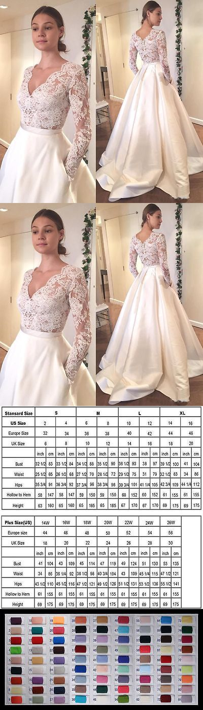 Wedding Dresses: New White Ivory Pocket Wedding Dress Bridal Gown Custom Size2 4 6 8 10 12 14 16+ -> BUY IT NOW ONLY: $110 on eBay!