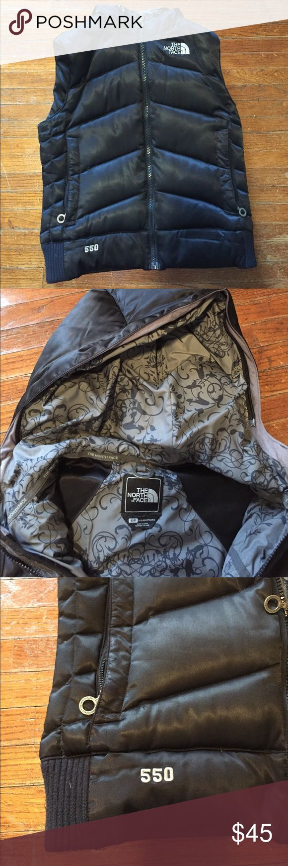 North face vest Black Trendy north face vest in black. Very cute vest! The North Face Jackets & Coats Vests