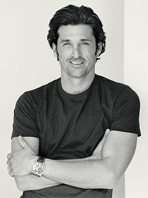 Patrick Dempsey- may I just say he's the main reason I'm addicted to Grey's Anatomy