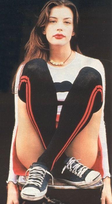 Liv Tyler by Lara Rossignol (1995)