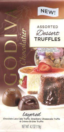 Godiva Chocolatier Dessert Truffles