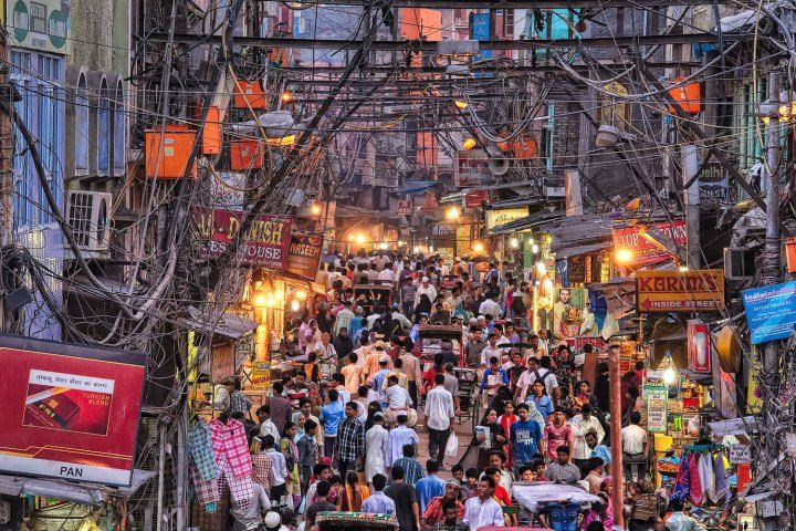 DELHI - Chandi chowk market , old Delhi - my fav place to get lost in colour, culture & amazing market food