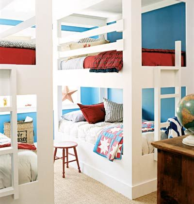 Cute bunk room!! Lake House...