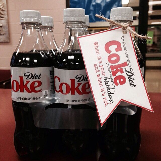 Happy birthday for a diet COKE lover ️ | DIY Gifts ...